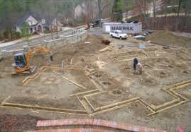 new home foundation piers for new home construction in atlanta ga by atlas piers