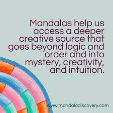 quotes intuition logic bringing the mandala into your journey of personal growth