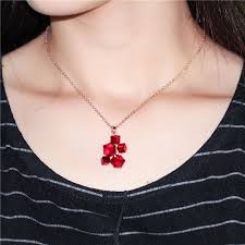womens necklace pendants images Uloveido colar geometric necklaces pendants rose gold color jpg