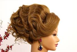 bridal prom updo hairstyle for long medium hair makeup videos