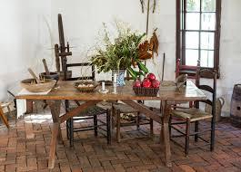 cuisine coloniale table de cuisine coloniale démodée image stock image du