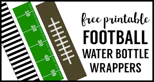 football water bottle labels free printable paper trail design