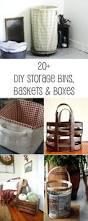 storage bins diy fabric covered storage bins easy baskets boxes