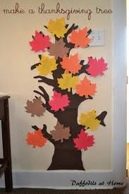 make a thanksgiving tree falling for