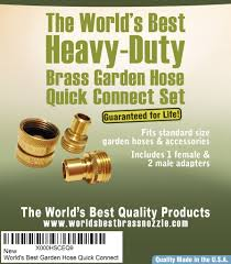 garden hose quick connect that doesn u0027t leak and is guaranteed for