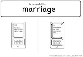 wedding quotes jokes before and after marriage