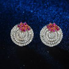 customized earrings china china suppliers customized white earrings ring shaped for