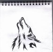 tribal wolf design 1 by wolfcaz millure on deviantart