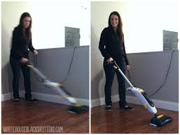 how i clean my hardwood floors with oreck grab it and steam it