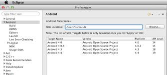 android sdk eclipse make eclipse and android studio play with the same android sdk