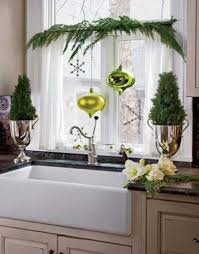 Kitchen Window Decorating Ideas Christmas Window Decorations Ideas 2017