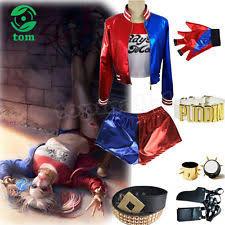 Size Harley Quinn Halloween Costume Harley Quinn Size Fancy Dresses Ebay