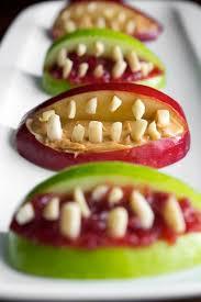 15 fun and healthy halloween snacks apple bites photomojo
