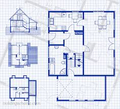 House Floor Plans Online by Plan House Blueprint With Vertikal And Horisontal Mesmerizing
