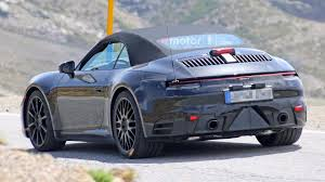 porsche new new generation porsche 911 cabriolet spotted testing ndtv carandbike