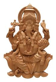 new lord ganesha wood carving tenott designs