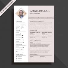 personal details resume minimalist wallpaper cute resume vectors photos and psd files free download