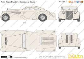 jonckheere rolls royce the blueprints com vector drawing rolls royce phantom i