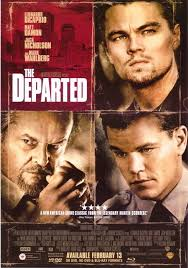 the departed movie poster 27x40 used jack nicholson matt damon
