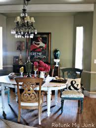 miss mustard seed u0027s milk paints dining room table reveal before