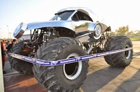 monster truck jam anaheim trail mixed memories monster sized surprise for ymca kids today