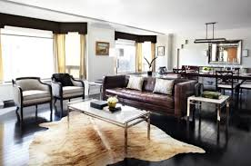 contemporary leather living room furniture living room modern living room dark floor decorating with brown