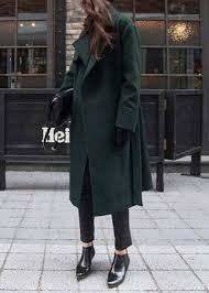 photo modern hepburn winter black cigarette pants and street