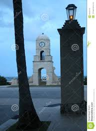 worth avenue clock tower stock photo image 48454141