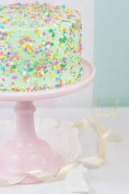 rainbow connection gluten free funfetti cake recipe