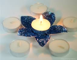 can you use tea light candles without holders diy flower tea light candle holder finding zest