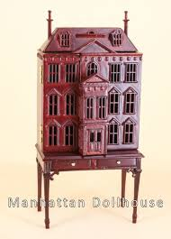 Free Miniature Dollhouse Plans Beginner by Manhattan Dollhouse Dollhouse Kits U0026 Dollhouse Miniatures