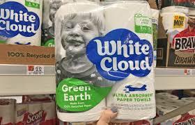 White Cloud Bathroom Tissue - white cloud paper towels 13 000 beach towels