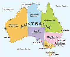 australia map capital cities map of australia states and capital cities major