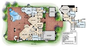 south florida designs tuscan luxury 2 story house plan south