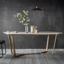 table legs for marble top gatsby marble dining table white gold modern dining furniture