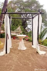 bamboo chuppah bamboo gazebo vallarta wed