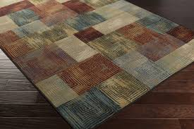 Rugs With Teal Nap 1031 Rug From Napa By Surya Plushrugs Com