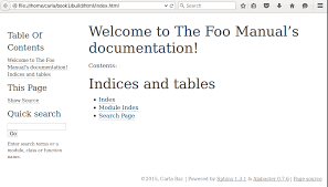 html themes sphinx write documentation once output multiple formats with sphinx
