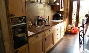 cuisine hetre clair plan de travail cuisine hetre finest cuisine avec plan de travail