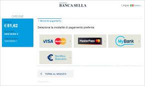 sella pagamenti pagamento servizi server dedicati con carta di credito e paypal