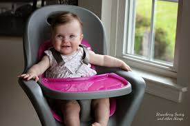 Pink Swinging Baby Chair Strawberry Swing And Other Things Little Foodie Boon Flair High
