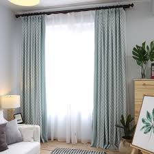 Green Bedroom Curtains Sage Green Patterned Floor To Ceiling Modern Bedroom Curtains