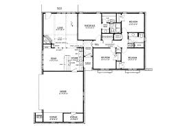 ranch style floor plans ranch style house plan 4 beds 2 00 baths 1500 sq ft plan 36 372