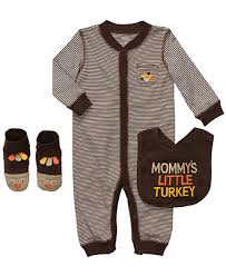 Thanksgiving Dresses For Infants Carters Baby Set Baby Boys Mommy U0027s Little Turkey Thanksgiving 3