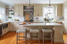 kitchen cabinets houzz kitchen of the week beige cabinets and a vintage vibe