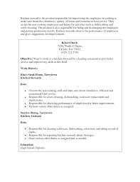 Kitchen Collection Jobs by Duties Of A Cook Resume Cv Cover Letter
