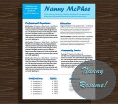 Nanny Resume Sample by Nanny Cover Letter Template Mrs Doubtfire By Nannylikeapro Your