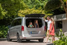 luxury minivan mercedes new mercedes benz v class adds some u2026class to minivan segment 54