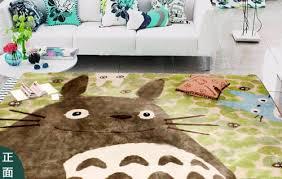grand tapis chambre enfant grand 183 127 cm totoro chambre tapis de sol tapis paillassons le