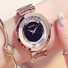ladies rose gold bracelet watches images Guou women 39 s watches ladies watch fashion luxury bracelet watches jpg